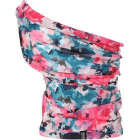 Regatta Multitube Printed Halsbeklædning pink/petroleumsgrøn